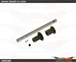 X5 Tail Output Shaft and bevel gear set