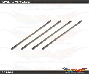 X5 Main Blade Linkage Rod(2x49mm)x4