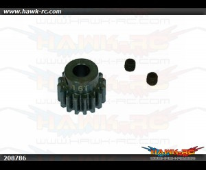 X5 Steel Pinion Gear Pack (16T-5mm shaft)