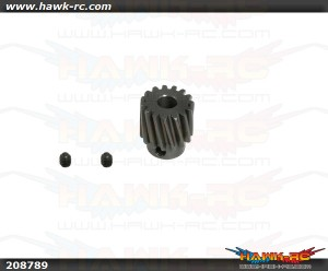 X5 15T  Steel Pinion Gear Pack (Bevel)