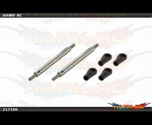 X7 Stainless Steel Main Blade Push Rod 67mm (FORMULA)