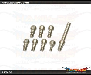 X7 Stainless Linkage (4.8mm) Balls