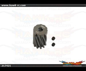 X7 11T Aluminum Pinion Gear Pack (Bevel)