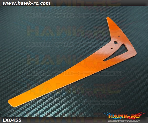 Lynx GAUI X7 - Vertical Fin - G10 Orange - GAUI