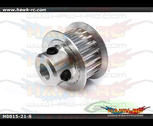 Motor Pulley 21T-Goblin 700