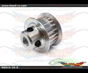 Motor Pulley 26T-Goblin 700