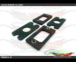 Carbon Fiber Tail Locking Reinforcement (2pcs)-Goblin 700