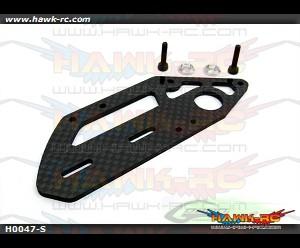 Carbon Fiber Tail Case Side (1pc)-Goblin 700