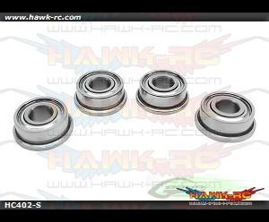 ABEC-5 Flanged bearing Φ3 x Φ7 x3-Goblin 700 (4pcs)