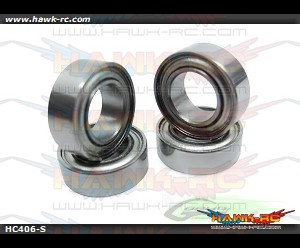 ABEC-5 Bearing Φ5 x Φ9 x 3-Goblin 700 (4pcs)