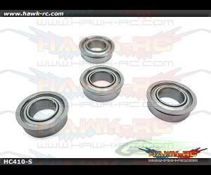 ABEC-5 Flanged bearing Φ5 x Φ9 x 3-Goblin 700 (4pcs)