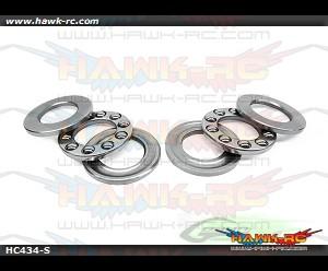 ABEC-5 Thrust bearing Ø4 x Ø9 x 4 - Goblin 630/700/770 (2pcs)