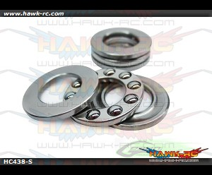 ABEC-5 Thrust bearing Φ10x Φ18 x 5,5 - Goblin 630/700/770 (2pcs)