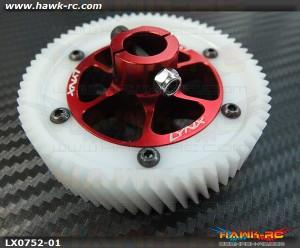 LYNX CNC Ultra Main Gear Set - Red - GOBLIN 700