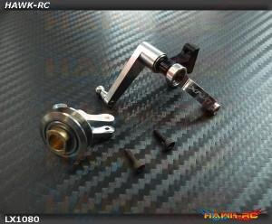 LYNX Precision Tail Bell Crank Syste (Silver) - GOBLIN 630-700-770