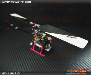 Hawk Creation High Performance CF Blade For mCP X/V2