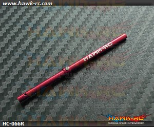 Hawk Creation CNC Alu Solid 3mm Main Shaft For mCP X/V2 (Red)