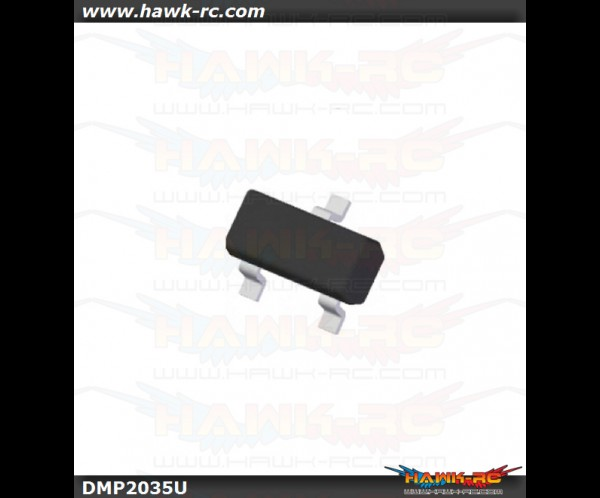 DigiKey MOSFET DMP2035U-7 For Micro ESC Double FET Modify