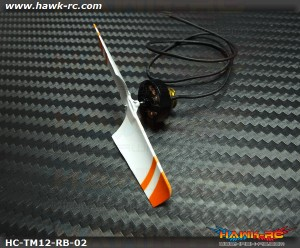 Hawk Creation 12000KV Brusless Tail Motor(7mm Mounting) For mCP X