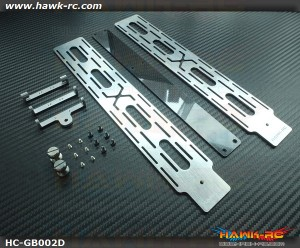 Hawk Creation Battery Slide Tray (2 Mou Plates) For Goblin (630,700,770)