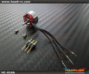 Hawk Creation C05M (Φ1.5mm Shaft) Outrunner Motor For mCP X/2, Mini CP