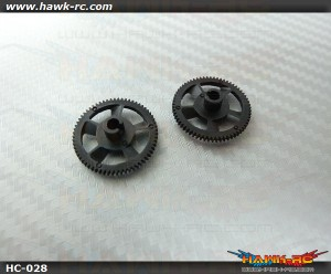 Hawk Creation 64T Main Gear (2pcs) For mCP X