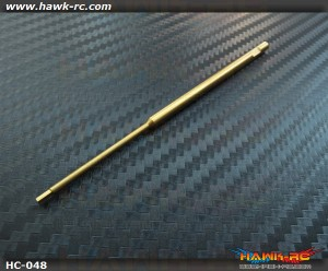 Hawk Creation Titanium Coating Harden 1.5mm Hex Driver Shaft