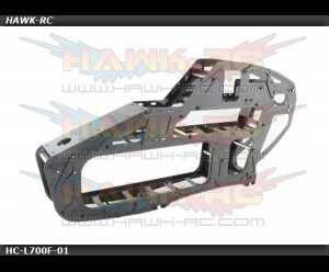 Hawk Creation 1mm Complete Main Frame For LOGO 700