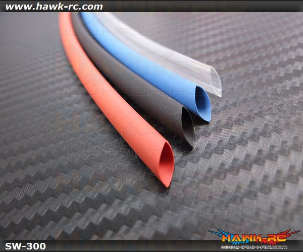 4 color Shrink Wrap Tube 5mmΦ L300mm
