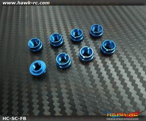 Hawk TX Switch Cap Blue (Fringe Bottom, JR, Spektrum)