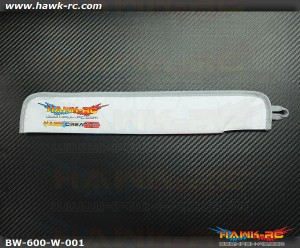 Hawk Creation 600 Class Blade Cover (600~630mm) White