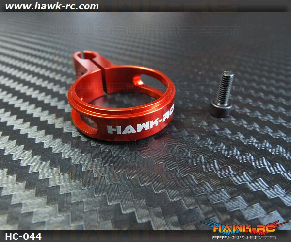 Hawk Creation 21.5~22mm Pushrod Guide (Red)