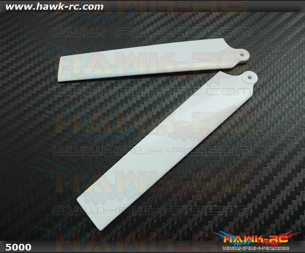 KBDD Extreme Edition Main Blades for Blade MCPX Helicopter- White