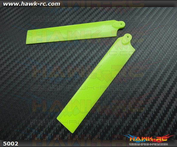 KBDD Extreme Edition Main Blades for Blade MCPX Helicopter- Neon Lime