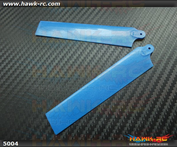 KBDD Extreme Edition Main Blades for Blade MCPX Helicopter- Pearl Blue