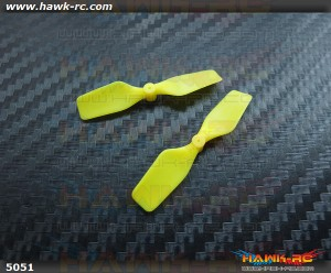 KBDD Extreme Edition Tail Rotor For mCP X 6mm Tail Motor (Neon Yellow)