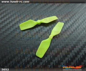 KBDD Extreme Edition Tail Rotor For mCP X 7mm Tail Motor (Neon Lime)