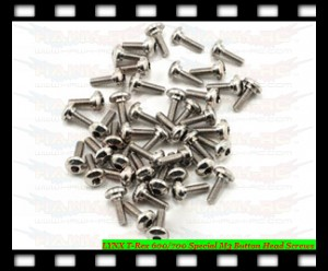 LYNX T-Rex 600/700 Special M3 Button Head Screws