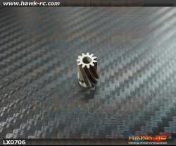 LYNX Steel Pinion Slant 11T (M0.6*3.17mm Shaft) Trex 450Pro / 450L / Gaui X3