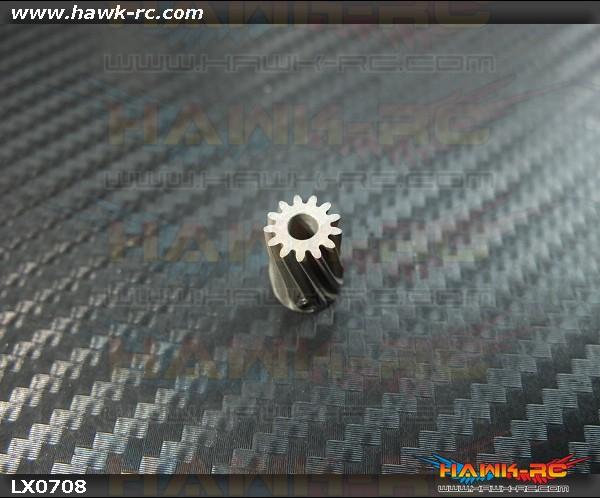 LYNX Steel Pinion Slant 13T (M0.6*3.5mm Shaft) Trex 450Pro / 450L / Gaui X3