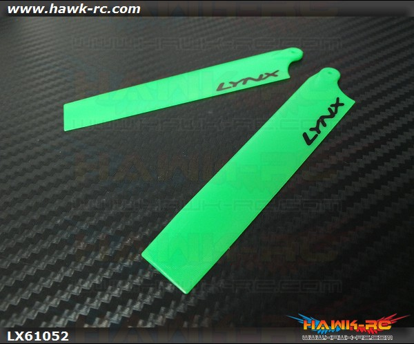 Lynx Plastic Main Blade 105 mm - Green Neon - mCP X