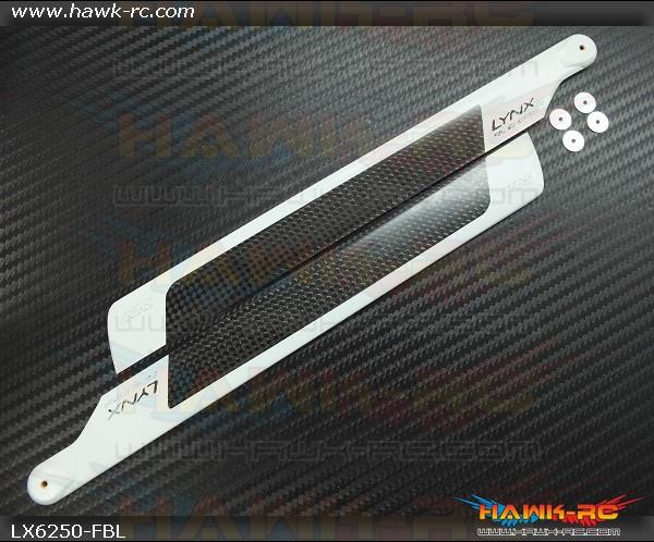 Lynx CF Main Blade 250 mm - FBL - 3D Edition