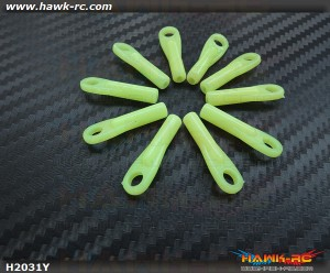 Quick UK HI-VIZ Control Ball Joints (Yellow)