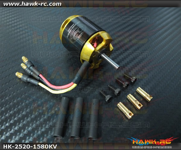Scorpion HK-2520-1580Kv Motor (3.5mm Shaft)