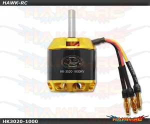 Scorpion HK-3020-1000KV Motor (5mm Shaft)