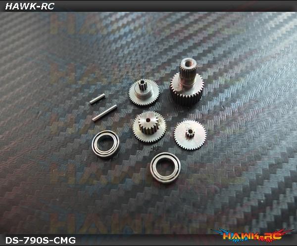 ServoKing DS-790 Complete Servo Gear Set (Include Bearings)