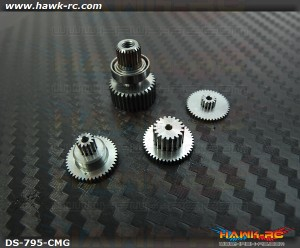 ServoKing DS-795 Complete Servo Gear Set (Include Bearings)