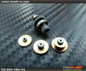 ServoKing DS-995(995i) Complete Servo Gear Set (Include Bearings)