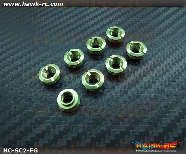 Hawk TX Switch Cap V2 Green (Fringe Bottom, DX7S/8)