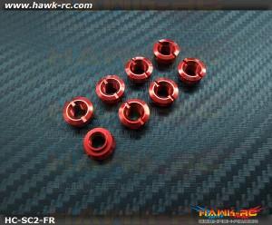 Hawk TX Switch Cap V2 Red (Fringe Bottom, Spektrum TX)